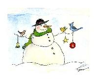 Brenda's Snowman Card Swap