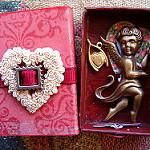 TheDen: Valentine's Matchbox Shrine