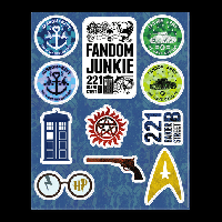 Sticker Sheet Swap #10