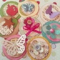 Card Candy Handmade Embellishment Swap