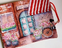Mini Handmade Art Journal R40