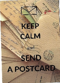 Keep Calm Postcard Swap