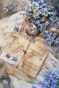 Clock Postcard Swap