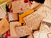 Handwritten about me letter international #4