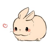 Cute animal postcard
