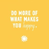 Put happiness on it!