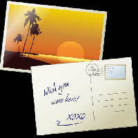 Email Questions Swap No. 4 - Postcards