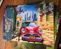 POSTCARD: Cars