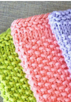 CFC: March 2019 - Dishcloth Spring Colors