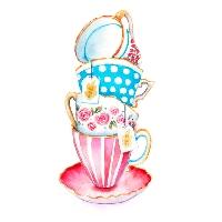 2 art postcard ☆ 1 tea ⁺˳✧༚1 letter ☆彡USA