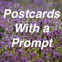 Postcards With a Prompt #33 - US Only