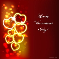 Share the love- a Valentine profile decoration