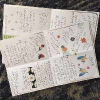 Springlove- Two Sheet Journal