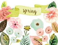 Spring/Flower Flip book