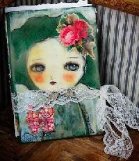 Handmade Art Journal Go Round R41