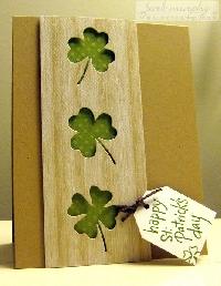 St. Patricks Day Card Swap #7
