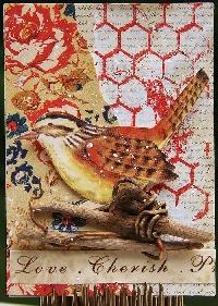 MFF: Spring Birds ATC