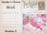 OIC: Sender's Choice Postcard #5 - Weekly Series
