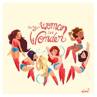 Wonder Women of the World: Notecard Swap