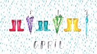 WIYM: April Showers/May Flowers ATC