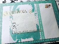 MAIL ART HAPPY MAIL - COLOR THEMED