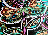 Handmade Art Journal Go Round R42