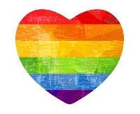 Rainbow themed postcard swap 🌈