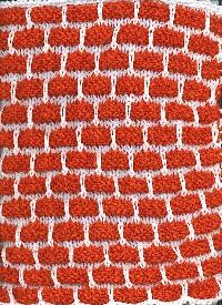 New Techniques Dishcloths - April/Slipped stitch