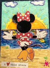 Disney ATC swap with a twist #7