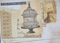 YTPC:  100-Day Project: Day 1 Collaged Envelopes