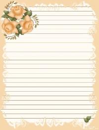Pinterest - Pretty Writing Paper