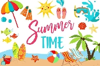Summer Plans Note Card Swap~USA Only