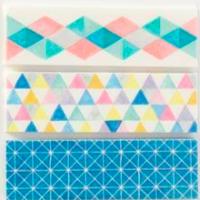 Themed Washi Swap #6: Geometric 🔺🔻