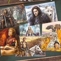 Themed postcard - Game of Thrones