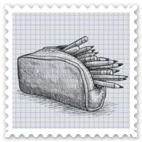 Fill A Pencil Bag