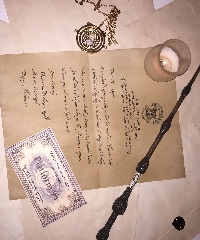 Harry Potter: Ilvermorny Acceptance Letter