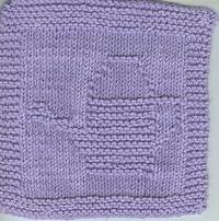 Monthly Dishcloth Swap - June - Purple