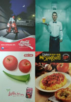 AD/Free Postcard - Food & Drink Theme
