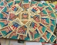 USED postage stamp destash RAK