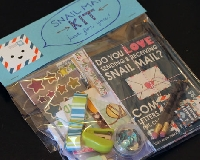 Snail Mail Craft Kit: Happy Mail theme