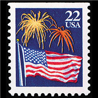 ✉ Vintage Postage on a PC — USA #7