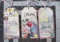 YTPC: 100 Day: Day 14: Journal Tag Book