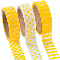💛 Themed Washi Swap #12: Yellow 💛