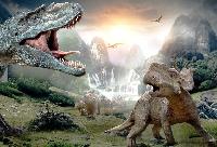 S&T: Dinosaur postcard