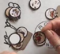 YTPC: 100-Day: Day 21: Mini-Circle Embellishments