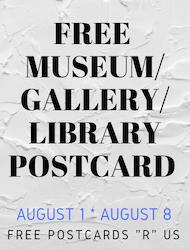 FPRU: Free museum/gallery/library postcard