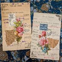 USAPC:  Altered Library Card & Pocket