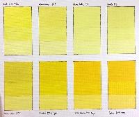 Yellow Themed Postcard Swap 💛🌻🚕🍋🧀🙃🐥🌽🌞🍌