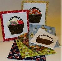 RAK Patchberry Spring basket Quilt applique kit