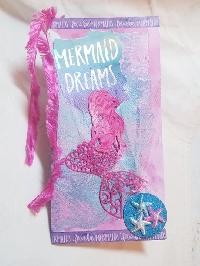 USA - DeConstructed Art Journal Page - Mermaids